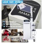 Diode Laser Hair Regrowth Device Handheld Probe Hair Growing Machine For Hair Salon