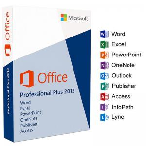 China Professional Plus 2013 Retail License , Microsoft Office 2013 Pro Retail Pack on sale