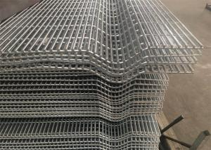 China Affordable Galvanized Anti Climb Metal 3 Wave Bends 358 Security Wire Mesh Fence With Barbed Wire on sale