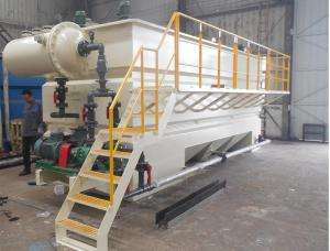 China Full Automatic Operation Dissolved Air Flotation For Palm Oil Recovery 1-100m³/H Capacity on sale