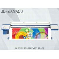 China CMYK Inkjet Eco Solvent Printers , Large Format UV Flatbed Printer Galaxy UD 25C8ACU on sale