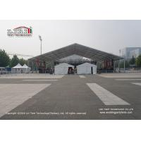 2000 Sqm Outside White Color Marquee Tent For Movable Sport Competition