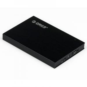 China ORICO 2595SUS Tool Free Multi-color USB2.0&eSATA Hard Drive Enclosure for 9.5mm &12.5mm SATA HDD on sale