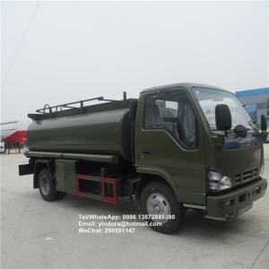 China mini fuel tank truck 6000l 5000l 7000l aviation fuel tank truck for sale fuel tank aluminum truck on sale