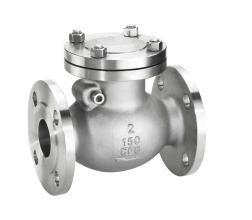 China Compact Size Stainless Steel Check Valve , Flanged Check Valve API 150LB on sale
