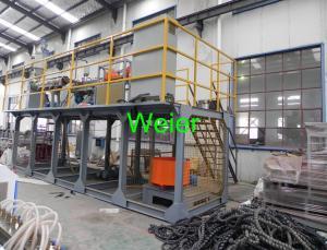 China Single Screw PE Plastic Pipe Extrusion Line / PE Pipe Extruder Machine on sale