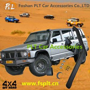 China stable quality car accessories 4wd snorkel for Nissan Patrol GQ on sale