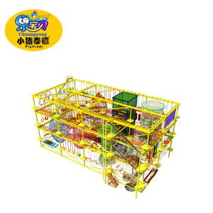 China Rope Course Climbing Rope Playground Equipment Big Capacity For Kids on sale