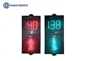 Quality Environment Friendly PC Traffic Light Pedestrian Crossing Heat Resisting for sale