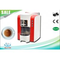 Customized Portable Programmable Coffee Maker , Red Coffee Making Machine For Office
