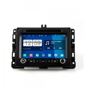 China 7 2 DIN android car DVD navigation android 4.4.4 HD 1024*600 for Dodge Ram1500 with wifi 3g 4g mirror link 4 core CPU on sale
