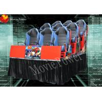 China Real feelings 7D movie theater electric system profitable amusement rides on sale