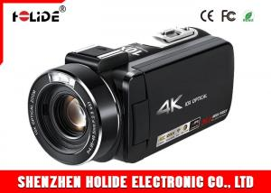 China High Resolution Digital Video Camera Camcorder 4KWiFi Video Cam 10XOpticalZoom on sale