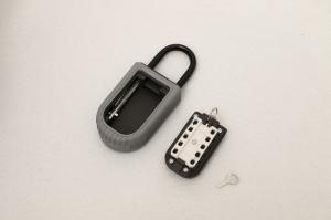 China Reinforced Push Button External Key Safe Boxes Lockbox For Car Keys on sale