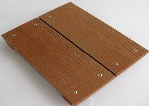 China Anti-Mould Composite Wood Decking Flooring / Boardwalk For Park Floor supplier