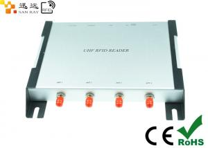China Durable 4 Ports Uhf Rfid Reader 840-960mhz With Impinj R2000 Module supplier