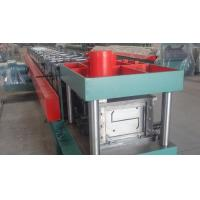 Width 100 - 300mm Z Type Purlin Cold Roll Forming Machine For Exhibition Building