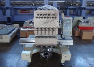 China Os sacos de toalhas dos revestimentos escolhem a máquina principal do bordado, máquina de costura industrial do bordado com 15 agulhas on sale