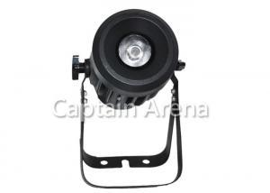China Black 10W DMX Indoor LED Par Light AC100 - 240V 50 - 60 Hz 4 - 7CH on sale