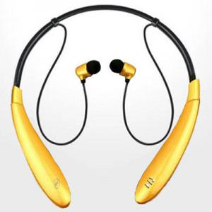 China Wireless Neckband Bluetooth Headphones with microphone for computer / Iphone / mobiie phone on sale