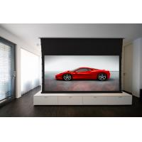 "Motorized Tab Tensioned Projector Screen 100"" / Home Cinema Screen"