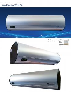 China Latest S6 Aluminum Series Centrifugal Type Air Curtain With Remote Control on sale