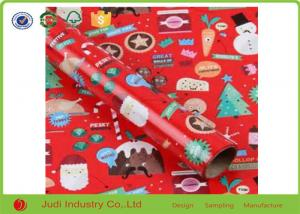 China Size Customized Coloured Wrapping Paper , Personalised Wrapping Paper For decoration on sale