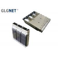 EMI Tabs Light Pipes QSFP28 Cage 1 X 3 Multiple Port Low Emission Design
