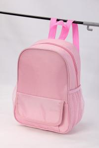 China Pink Color School Backpack For Girls -HAB13569 on sale