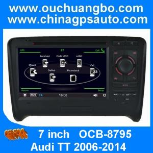 China Ouchuangbo radio gps multimediastereo for Audi TT 2006-2014 with USB SD swc OCB-8795 on sale