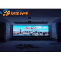 1200Hz lightWeight LED Video Wall Display , Big LED Display Screen Steel Cabinet