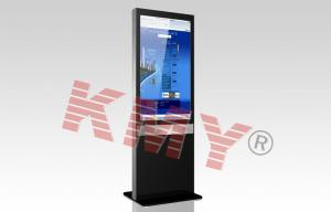 China Two Side Interactive Touch Screen Digital Signage Kiosk Advertising on sale