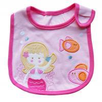 China Lovely Princess Soft Cotton Baby Bibs Waterproof Saliva Towel Bib For Kid Feeding on sale
