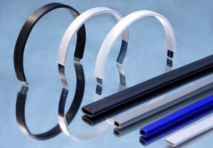 China Flexible PVC Tubing For Headphone , Headphone Casing Soft PVC Tubing on sale
