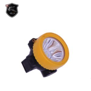 China BO 2000 4000Lux Rechargeable 2.2ah LED miners headlamp light li-ion battery led work light on sale