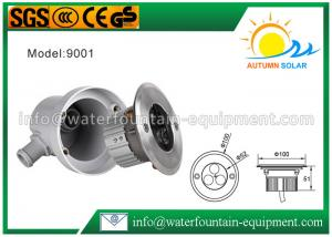 China 4W RGB Decorative LED Underground Light For Garden Durable Heat Dissipation on sale