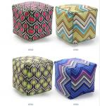 Large bolster cushion,repeat vector graphic cushion,beads filling pouf floor cushion
