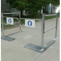 Stainless steel security barrier access control supermarket entrance turnstile