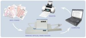 China high speed scanner automaticly lottery reading OMR scanner ---OMRS50FBSA on sale