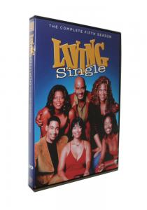 China 2018 newest Living Single Season 5  (3DVD) Adult TV series Children dvd TV show kids movies hot sell on sale