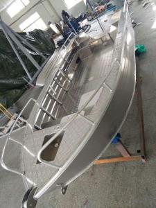 China High Performance Aluminum Fishing Boats 1.9M Width Aluminum River Boats on sale