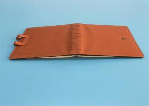 China Custom Leather Bound Book / Notebook Printing With Inner Page 210mm x 148mm on sale
