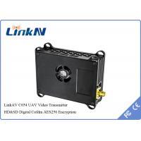 PAL / NTSC Video UAV Drone Digital Video Link COFDM Transmitter With TTL / RS232 / RS485