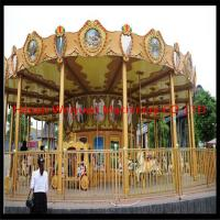 rides game 24 seats big luxury carousel horse for sale