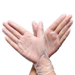 China Disposable PVC Gloves Hair Dye Protective / Care Hand Hair Salon Vinyl / PVC on sale