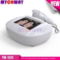China HiFU font face au rajeunissement de forte intensité de peau d'ultrason de foyer de levage équipement de beauté de Firmning de 1,5/3/4,5 cartouches on sale