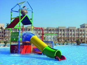 China Swimming pool water slide kids play house on sale