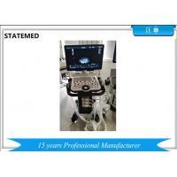 60KG Mobile 10 Mode 3D / 4D Color Doppler Ultrasound Scanner For Human , FDA Approved