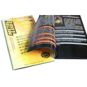China OEM / ODM Saddle Stitching Catalog glossy lamination full Color Booklet Printing on sale