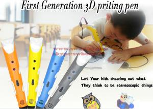 China 3D pens 2nd Generation LED Display DIY 3D Printer Pen With 3Color 9M ABS Arts 3d pens For Kids Drawing Tools on sale